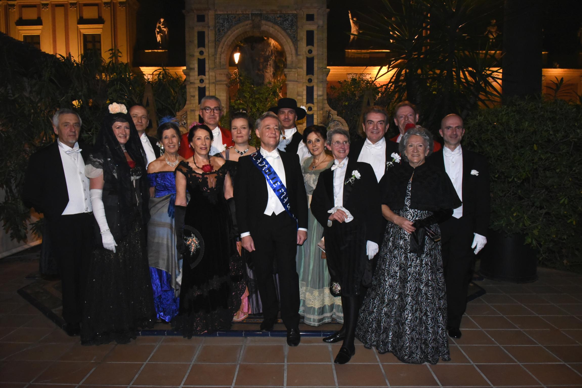 Le Quadrille Français est allé danser à Séville, 17 novembre 2018